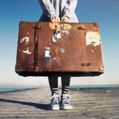 Au pair with suitcase